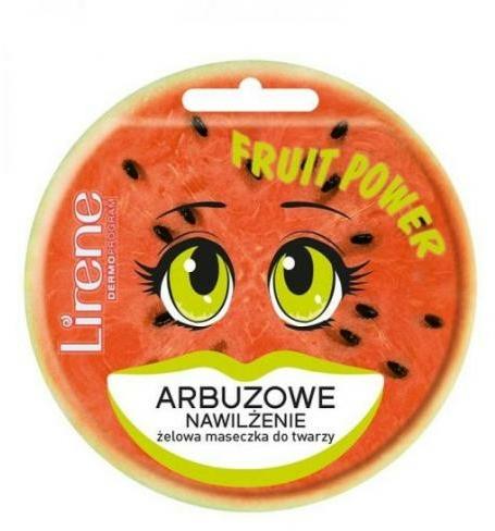 Гелообразна маска за лице с диня - Lirene Fruit Power
