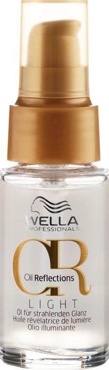 Леко масло за сияен блясък на косата - Wella Professionals Oil Reflection Light
