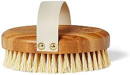 Парфюмерия и Козметика Бамбукова четка за сух масаж - Crystallove Bamboo Agave Body Brush