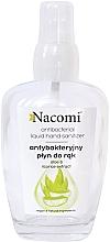Парфюмерия и Козметика Антибактериален спрей за ръце в стъклено шишенце - Nacomi Antibacterial Liquid Hand Sanitizer