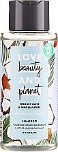 Парфюмерия и Козметика Шампоан за обем с кокосова вода и мимоза - Love Beauty&Planet Coconat Water & Mimosa Flower