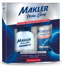 Парфюми, Парфюмерия, козметика Комплект - Makler Celebration After Shave&Body Spray (lot/100ml+deo/150ml)