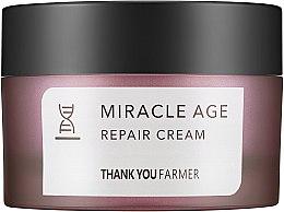 Парфюми, Парфюмерия, козметика Възстановяващ и изсветляващ крем за лице против бръчки - Thank You Farmer Miracle Age Cream