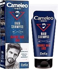 Парфюмерия и Козметика Шампоан за коса - Delia Cameleo Men Against Hair Loss Shampoo