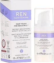 Парфюмерия и Козметика Лифтинг крем-гел за околоочния контур с озаряващ ефект - Ren Keep Young And Beautiful
