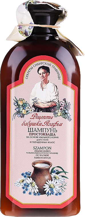 "Шампоан ""Кисело мляко"" - Рецептите на баба Агафия"