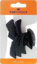 Парфюмерия и Козметика Щипка за коса, черна - Top Choice Hair Claw Clip 25549