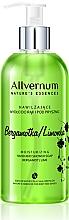 """Парфюмерия и Козметика Сапун за ръце и душ """"Бергамот и лайм"""" - Allverne Nature's Essences Hand And Shower Soap"""