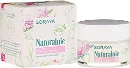 Парфюми, Парфюмерия, козметика Успокояващ дневен крем за лице - Soraya Naturalnie Day Cream