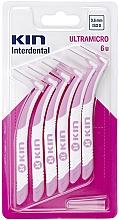 Парфюмерия и Козметика Интердентални четки 0,6 мм - Kin Ultramicro ISO 0