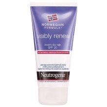 Парфюмерия и Козметика Възстановяващ еластичността крем за ръце SPF 20 - Neutrogena Visibly Renew Hand Cream