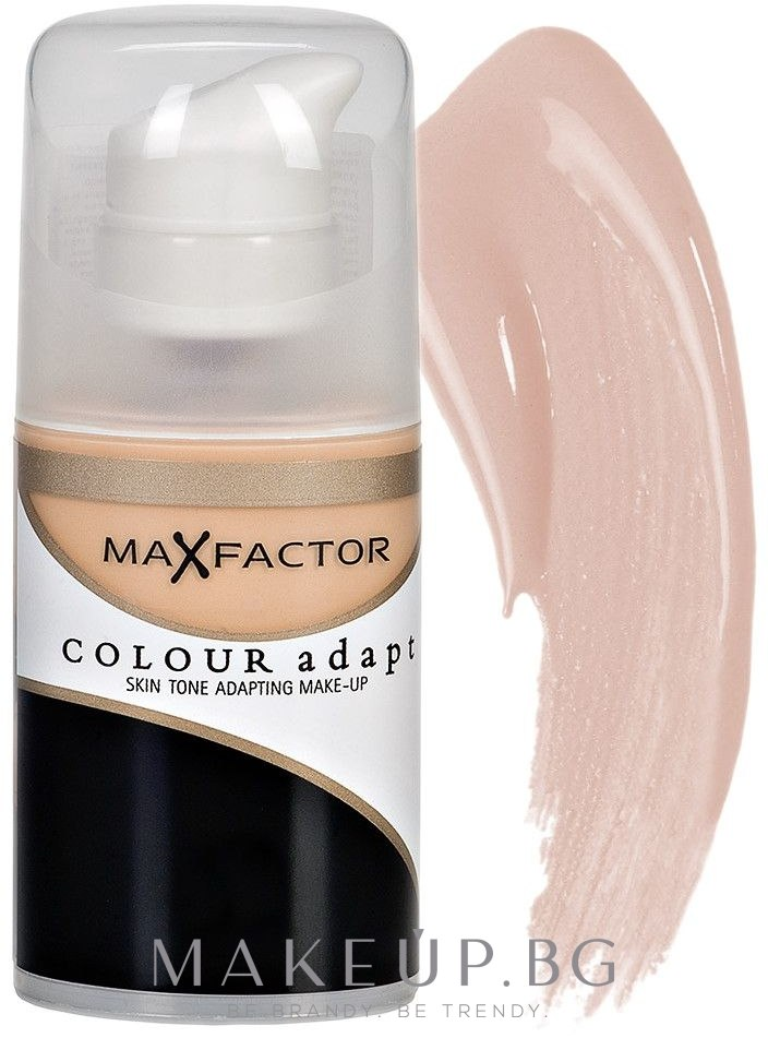 Фон дьо тен - Max Factor Colour Adapt — снимка 55 Червен беж
