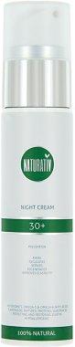 Нощен крем за лице - Naturativ Facial Night Cream 30+ — снимка N1