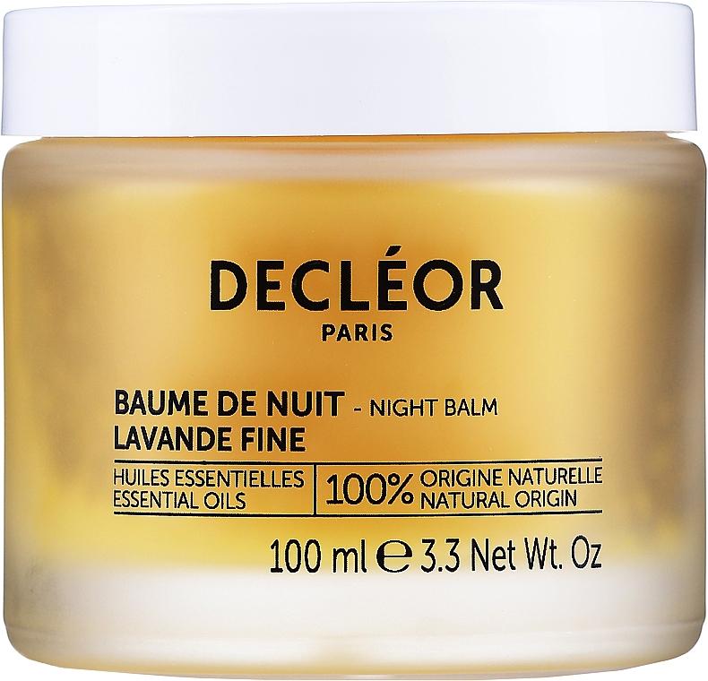 Подмладяващ нощен балсам за лице с етерично масло от Ирис - Decleor Aromessence Iris Rejuvenating Night Balm — снимка N1