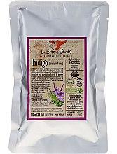 Парфюми, Парфюмерия, козметика Натурално индиго на прах за коса - Le Erbe di Janas Indigo (Black Henna)