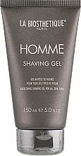 Парфюмерия и Козметика Гел за бръснене за всеки тип кожа - La Biosthetique Homme Shaving Gel