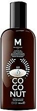 Парфюми, Парфюмерия, козметика Масло за тен - Mediterraneo Sun Coconut Suntan Oil Dark Tanning SPF6