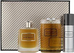 Парфюмерия и Козметика Trussardi Riflesso Man Set - Комплект (тоал. вода/100ml + душ гел/200ml + део/100)