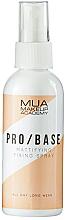 Парфюмерия и Козметика Фиксиращ матиращ спрей за грим - MUA Pro Base Mattifying Fixing Spray
