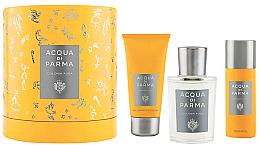 Парфюмерия и Козметика Acqua Di Parma Colonia Pura - Комплект (одеколон/100ml + душ гел/75ml + део/50ml)