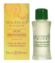 Парфюмерия и Козметика Frais Monde Spa Fruit Apricot And White Musk Perfumed Oil - Парфюмно масло