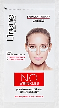Парфюмерия и Козметика Пачове за очи против стареене - Lirene Dermo Program No Wrinkles