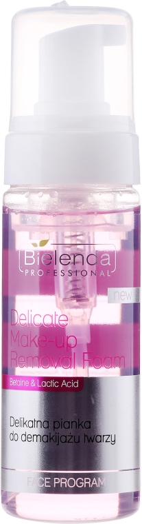 Нежна пяна за почистване на лице - Bielenda Professional Face Program Delicate Make-up Removal Foam
