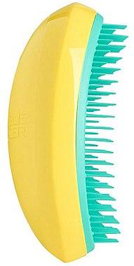 Четка за коса - Tangle Teezer Salon Elite Yellow&Green — снимка N1