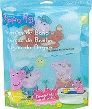"""Парфюми, Парфюмерия, козметика Комплект гъби за баня """"Прасето Пепа"""" 3бр, самолетно пътуване - Suavipiel Peppa Pig Bath Sponge"""