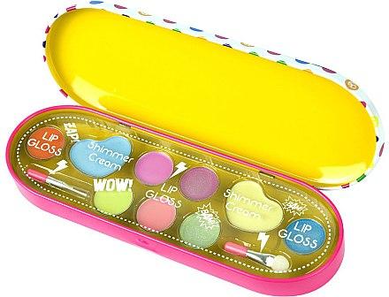 Комплект с детска декоративна козметика - Markwins Pop Girls Girls Rock — снимка N1
