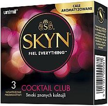 Парфюмерия и Козметика Презервативи, 3 бр. - Unimil Skyn Cocktail Club