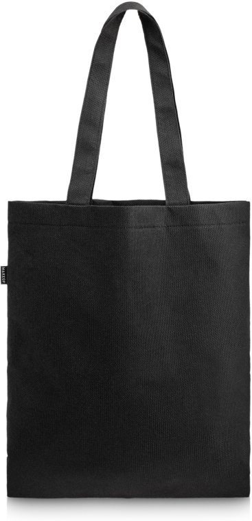 "Шопър чанта, черна ""Perfect Style"" - MakeUp Eco Friendly Tote Bag Black"