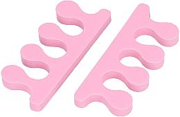 Парфюмерия и Козметика Разделители за педикюр, розови - Tools For Beauty Toe Separator Pink
