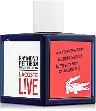 Парфюмерия и Козметика Lacoste Lacoste Live Collector`s Edition - Тоалетна вода