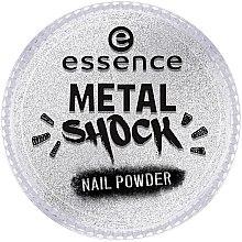 Парфюмерия и Козметика Пудра за нокти - Essence Metal Shock Rainbow Nail Powder
