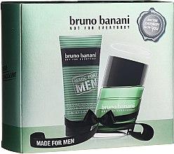 Парфюмерия и Козметика Bruno Bananii Made For Men - Комплект (тоал. вода/30ml + душ гел/50ml)