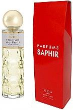 Парфюмерия и Козметика Saphir Parfums Noches de Paris - Парфюмна вода