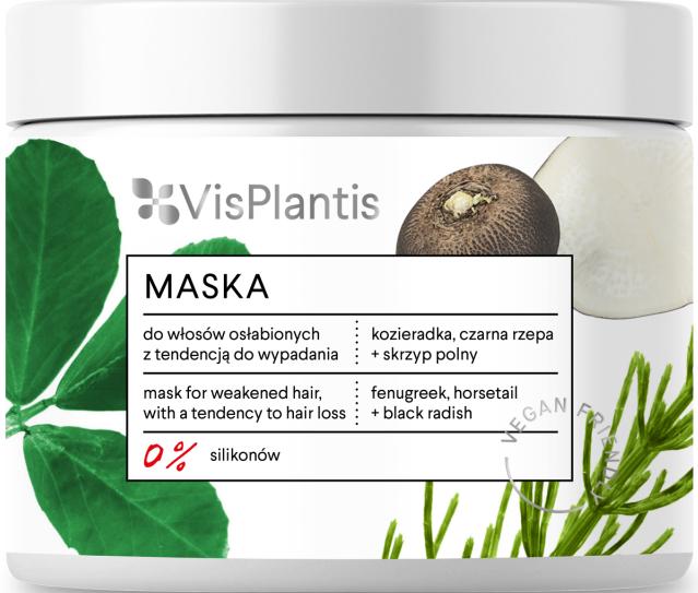 Маска за отслабена коса - Vis Plantis Mask