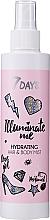 Парфюмерия и Козметика Хидратиращ спрей за коса и тяло - 7 Days Illuminate Me Hydrating Hair & Body Mist