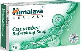 Парфюмерия и Козметика Освежаващ сапун с краставица - Himalaya Herbals Refreshing Cucumber