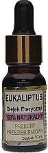 "Парфюми, Парфюмерия, козметика Натурално масло ""Евкалипт"" - Biomika Eukaliptus Oil"