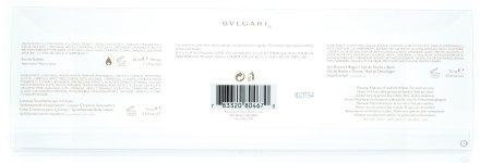 Bvlgari Mon Jasmin Noir L`Eau Exquise - Комплект (edt/50ml + b/lot/75ml + s/g/75ml) — снимка N6