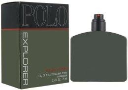 Парфюми, Парфюмерия, козметика Ralph Lauren Polo Explorer - Тоалетна вода (тестер без капачка)