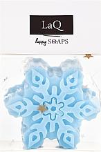 """Парфюмерия и Козметика Ръчно изработен натурален сапун """"Снежинка"""" с аромат на плодове - LaQ Happy Soaps Natural Soap"""