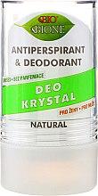Парфюмерия и Козметика Дезодорант - Bione Cosmetics Deo Krystal Antiperspirant&Deodorant