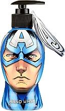Парфюмерия и Козметика Течен сапун за ръце - Disney Marvel Capitan America