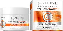 Парфюмерия и Козметика Крем за лице с витамин С - Eveline Cosmetics Vit C Face Cream
