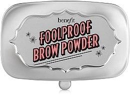 Парфюмерия и Козметика Пудра за вежди - Benefit Foolproof Brow Powder