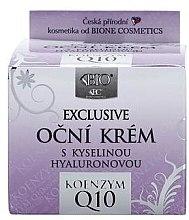 Парфюми, Парфюмерия, козметика Крем за очи - Bione Cosmetics Exclusive Organic Eye Cream With Q10