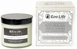 """Парфюми, Парфюмерия, козметика Ароматна свещ """"Ягода и Ванилия"""" - Eco Life Candles"""